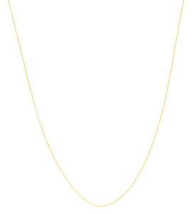 GOLD CURB NECKLACE