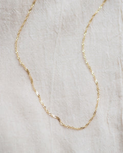 Gold Twist Collier
