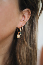 Load image into Gallery viewer, GOLD EARRING CHARM AVENTURINE
