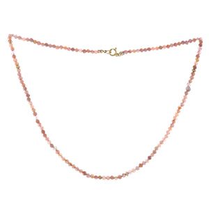 GOLD SUNNY SUNSTONE NECKLACE