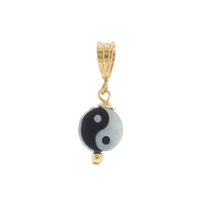 Load image into Gallery viewer, GOLD NECKLACE CHARM YIN YANG