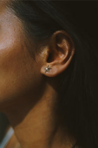 GOLD STARFISH EARSTUD
