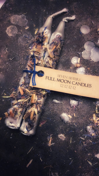 Full Moon 12 12 12 12 Candles by Seven Sisters