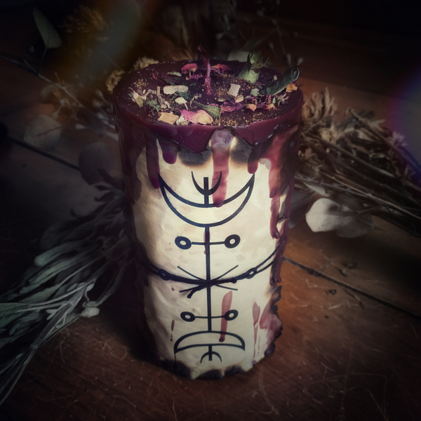 SOTERIA (Hekate) Devotional Candle