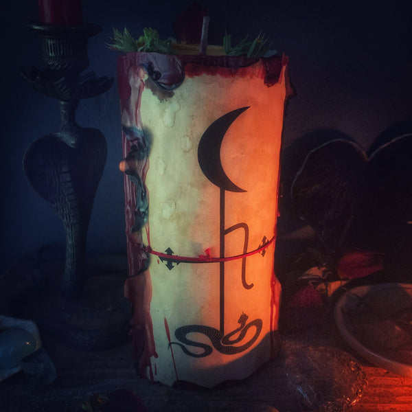 LILITH Devotional Candle
