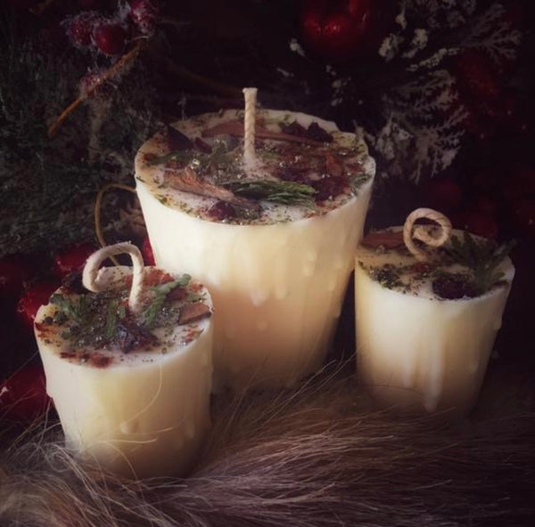 Yule/ Winter Solstice Candles