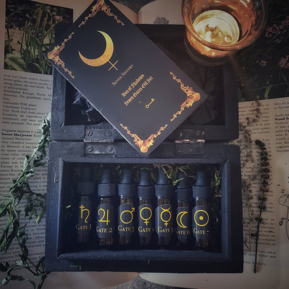 Box of Shadows - Seven Gates Oil Set