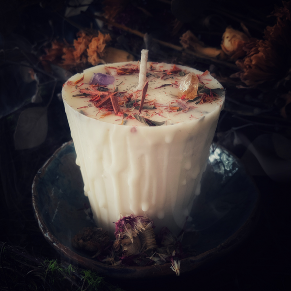 Sacred Flame Intention Candle