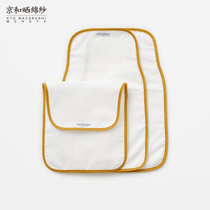 4 Layers Gauze Baby Sweat Towel 3 Pieces in 1 Set [Kyo Wazarashi Mensya]