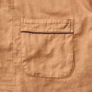 Persimmon-dyed 2 Layers Gauze Pajamas Set [Kyo Wazarashi Mensya]