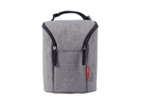 Skip Hop Bolsa DOble para botellas - Heather Gris