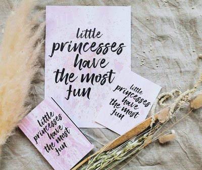 Little princess -setti - LuKLabel