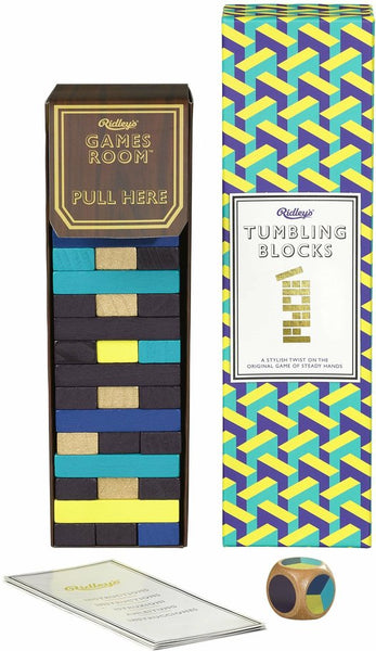 Tumbling Blocks - Ridley's Games Room