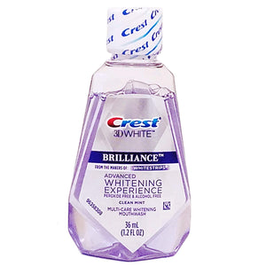 CREST BRILLIANCE TRAVEL MOUTHWASH