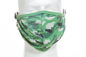 PRINTED CORDLOCK PROTECTIVE FACE MASK