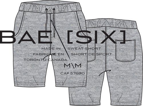 MEN'S FASHION SWEAT SHORT