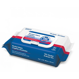 BODICO ALCOHOL WIPES (PACK OF 80)