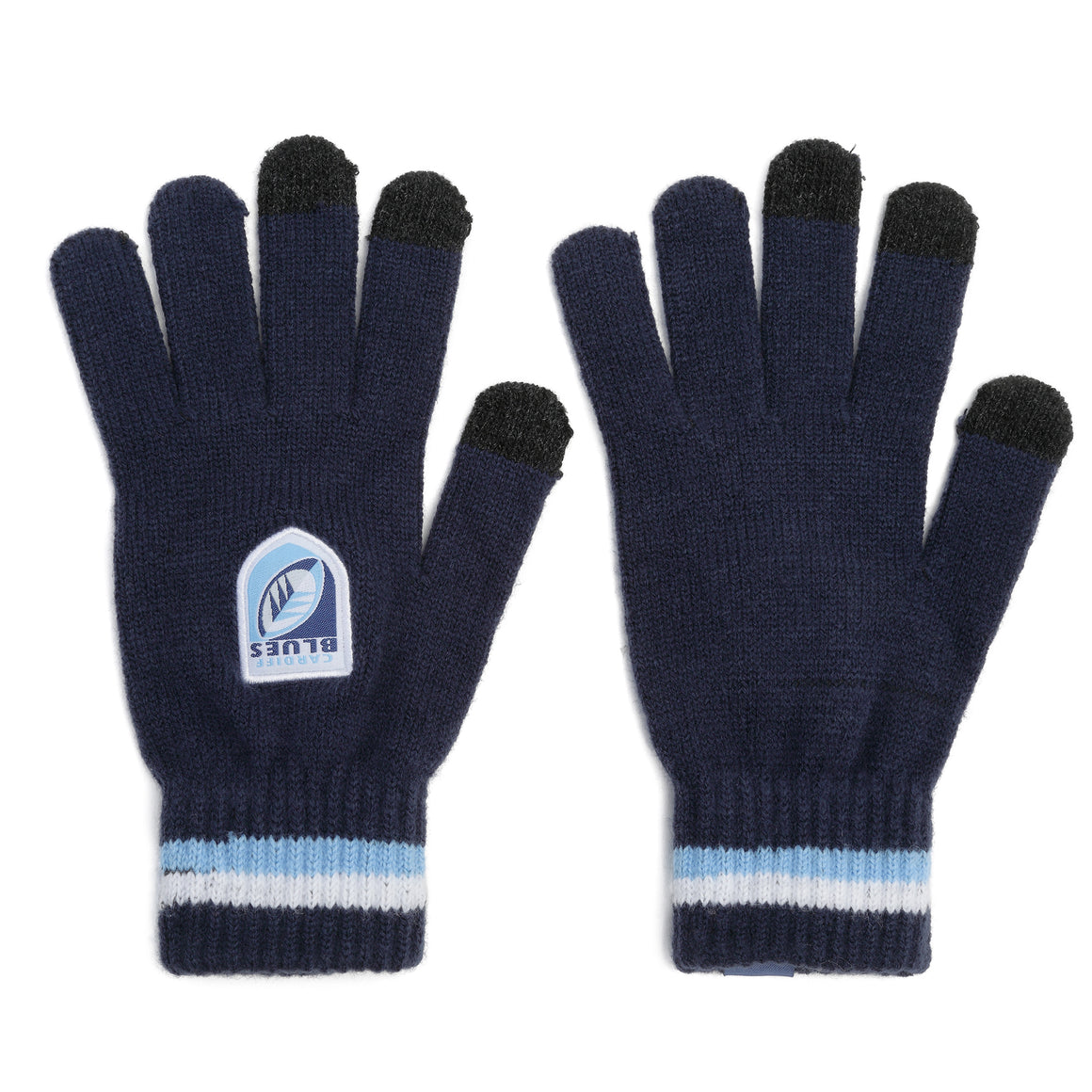 Cardiff Blues Gloves Adult
