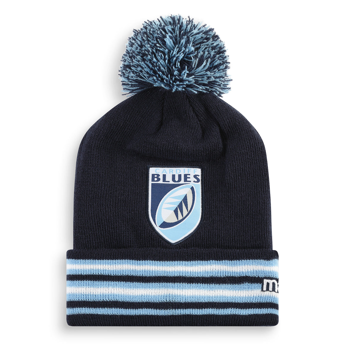Cardiff Blues Bobble Hat Junior 19/20