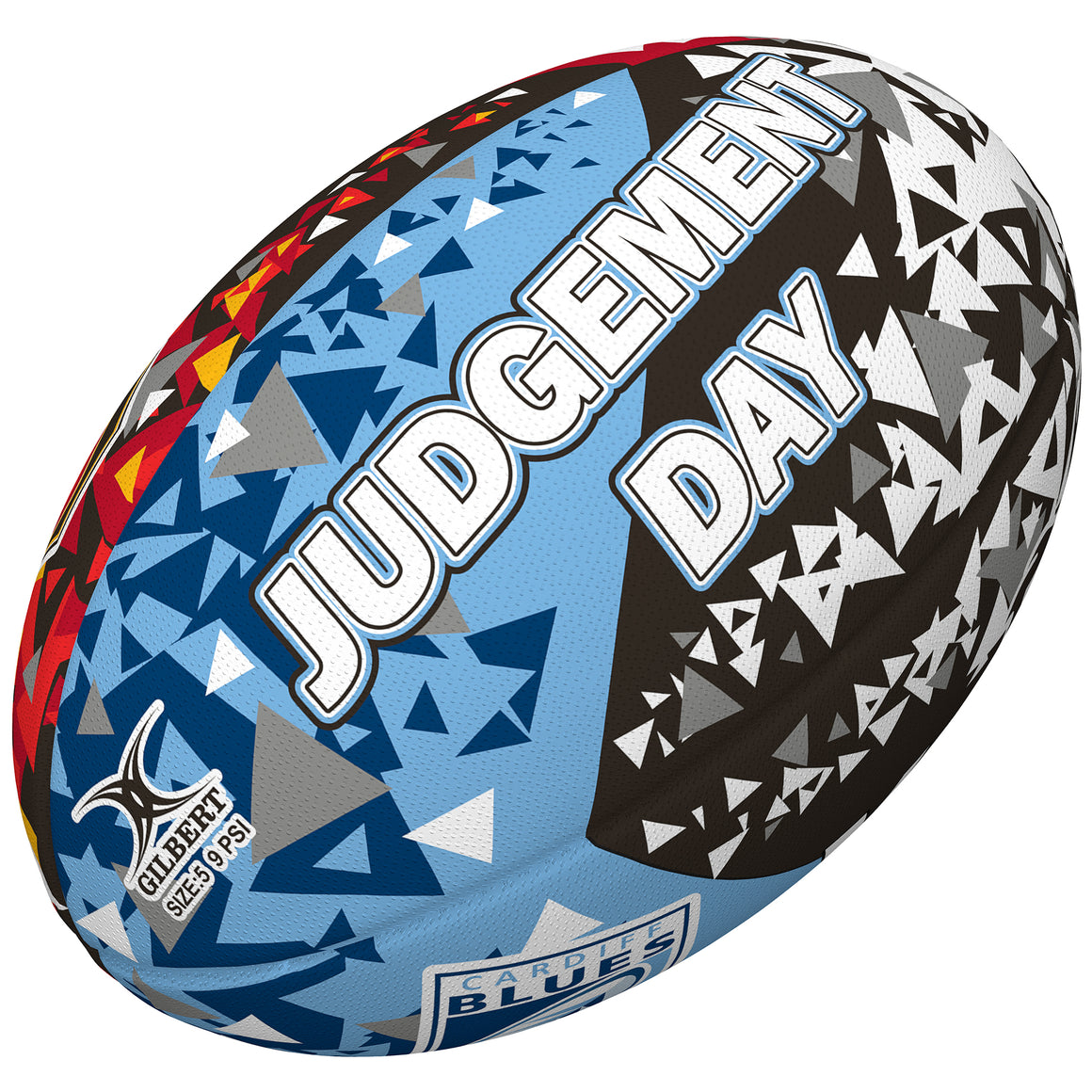 Judgement Day Rugby Ball