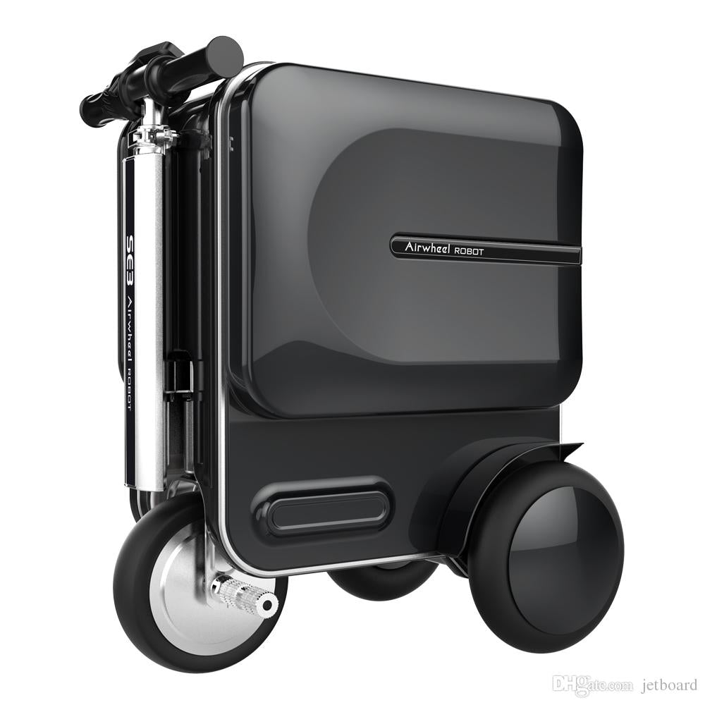 Electric Rideable Luggage Scooter