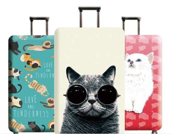 Cool Cats Protective Suitcase Cover