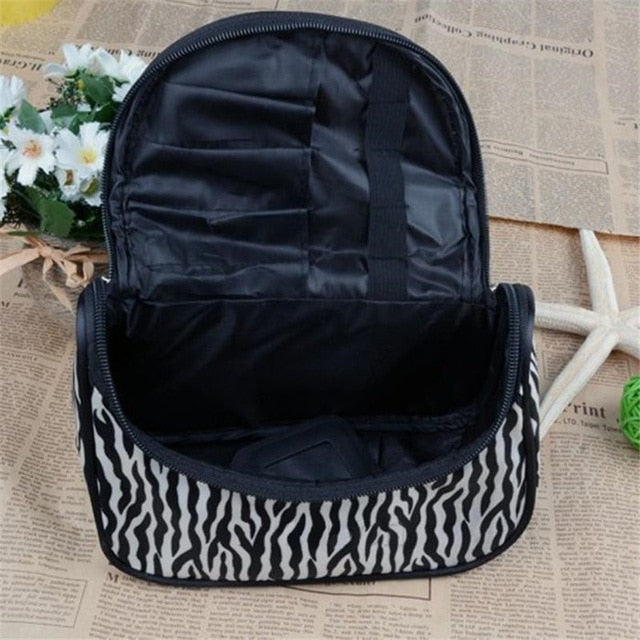 Wild Zebra Makeup Case