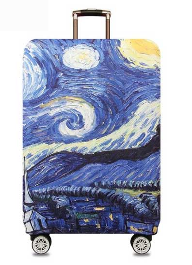 Van Gogh suitcase cover