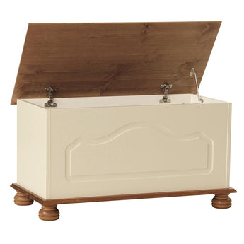 Copenhagen Blanket Box Cream and Pine - Alidasa
