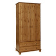Copenhagen 2 Door 2 Drawer Robe Pine - Alidasa