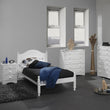Scandi 2+4 Drawer Chest White - Alidasa
