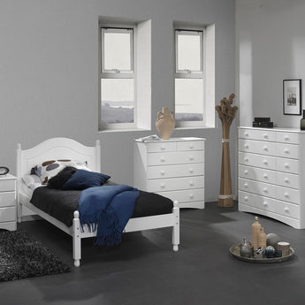 Scandi 6+6 Drawer Chest White - Alidasa