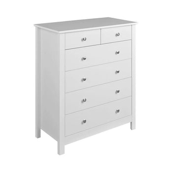 Florence 2 over 4 Drawer Chest - Alidasa