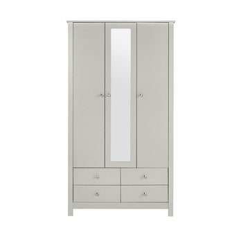 Florence 3 Door 4 Drawer wardrobe with mirror alidasa.myshopify.com