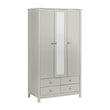 Florence 3 Door 4 Drawer wardrobe with mirror - Alidasa
