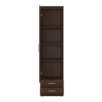Imperial Tall 1 Door 2 Drawer Narrow Cabinet - Alidasa