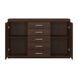 Imperial 2 Door 5 Drawer Sideboard - Alidasa
