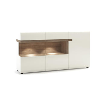 Chelsea 3 Door Glazed Sideboard - Alidasa