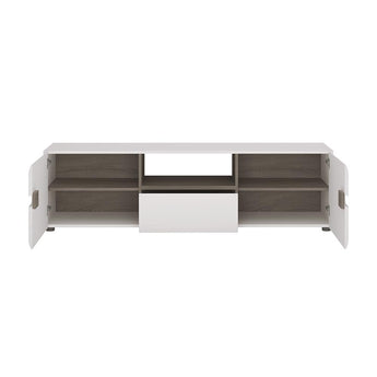 Chelsea Wide TV unit with opening alidasa.myshopify.com