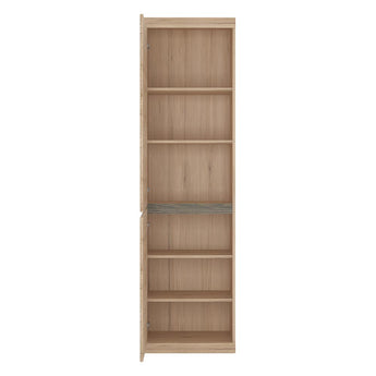 Kensington Tall Narrow 2 Door Cupboard - Alidasa