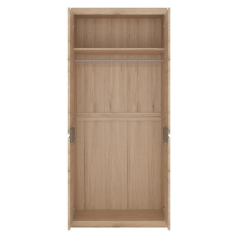 Kensington Tall Wide 2 Door Cupboard - Alidasa