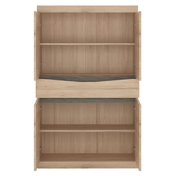 Kensington 4 Door 1 Drawer Cupboard alidasa.myshopify.com