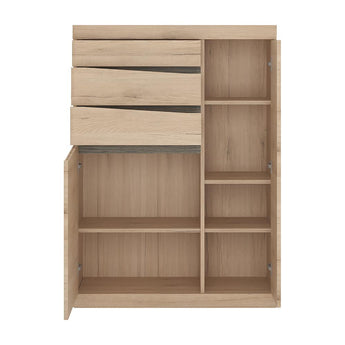 Kensington 2 Door 3 Drawer Cabinet - Alidasa
