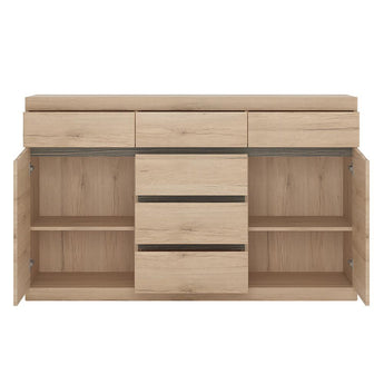 Kensington 2 Door 3+3 drawer Sideboard - Alidasa