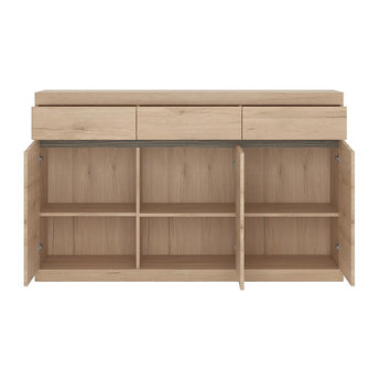 Kensington 3 Door 3 Drawer Sideboard alidasa.myshopify.com