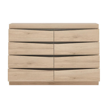 Kensington 4 + 4 Wide Chest of Drawers - Alidasa