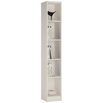 4 You Tall Narrow Bookcase - Alidasa