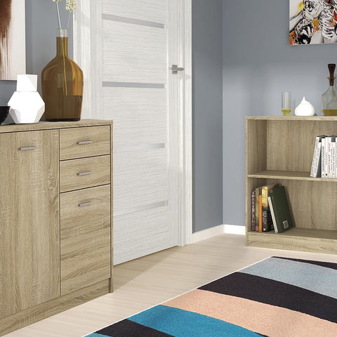 4 You 2 Door 2 drawer Cupboard - Alidasa