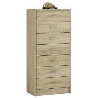 4 You 7 Drawer Narrow Chest - Alidasa