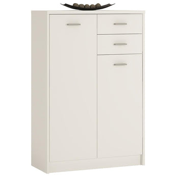 4 You Tall 2 Door 2 Drawer Cupboard - Alidasa